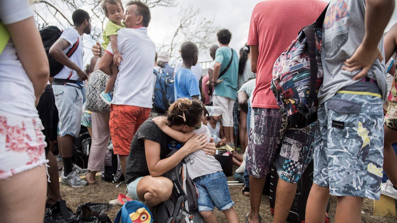 El rastro de destrucción de «Irma» por el Caribe, en imágenes