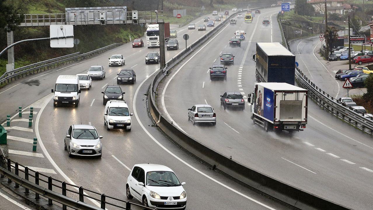 La autovía de O Porriño es una de las más peligrosas de España
