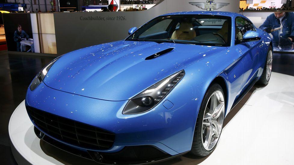 El Ferrari F12 Berlinetta Lusso, uno de los más elegantes de la casa italiana.