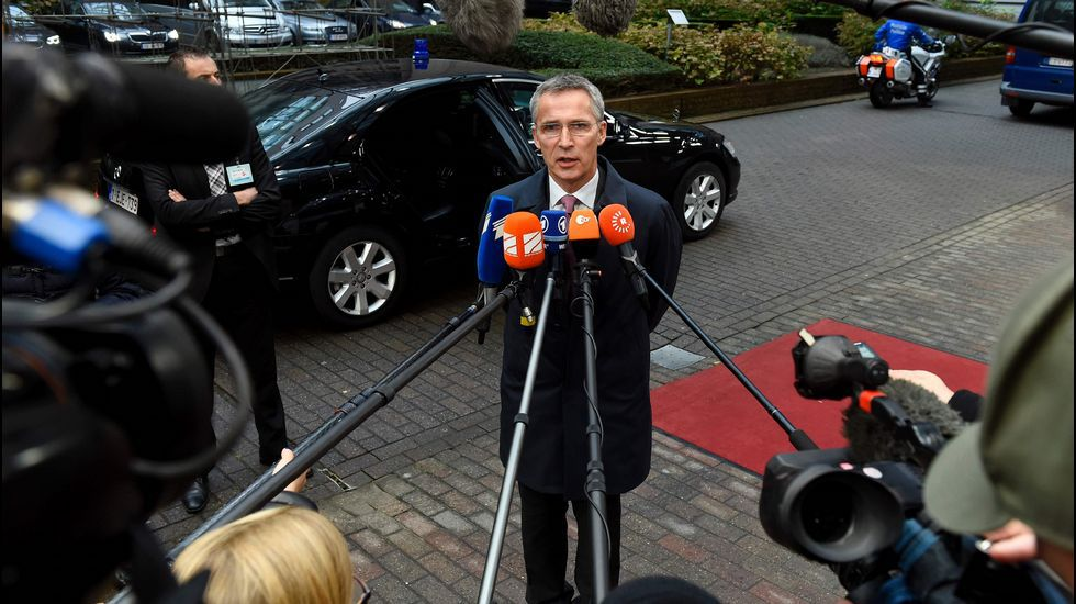 .El secretario general de la OTAN, Jens Stoltenberg.