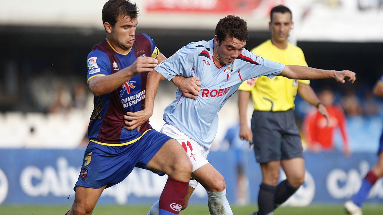 7 - Celta-Levante (1-1) el 12 de septiembre del 2009