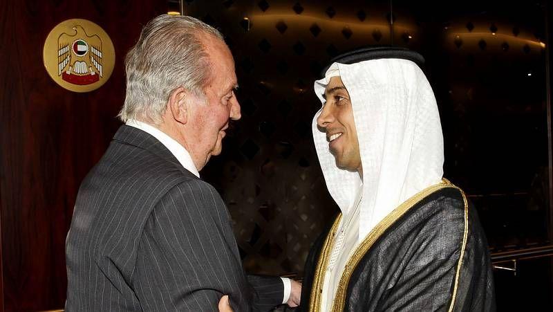 .El rey, ayer en Kuwait