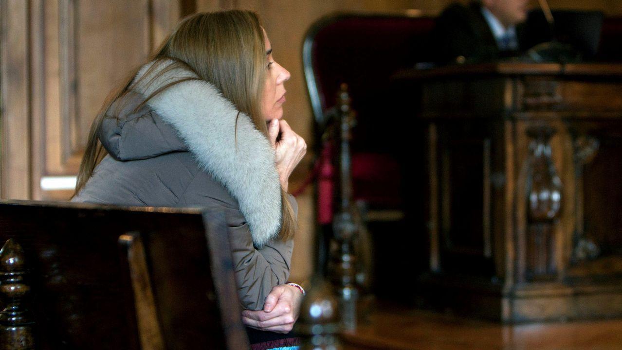 La defensa de la narcoabogada Tania Varela esgrime defectos de instrucción.Tania Varela, durante su declaración en la Audiencia de Pontevedra, en una imagen de vídeo