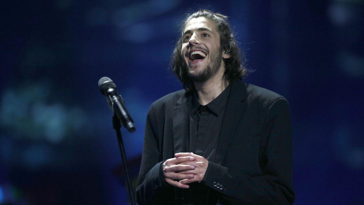 Mercy, la canción que representará a Francia en Eurovisión.Salvador Sobral, ganador de la última edición de Eurovisión