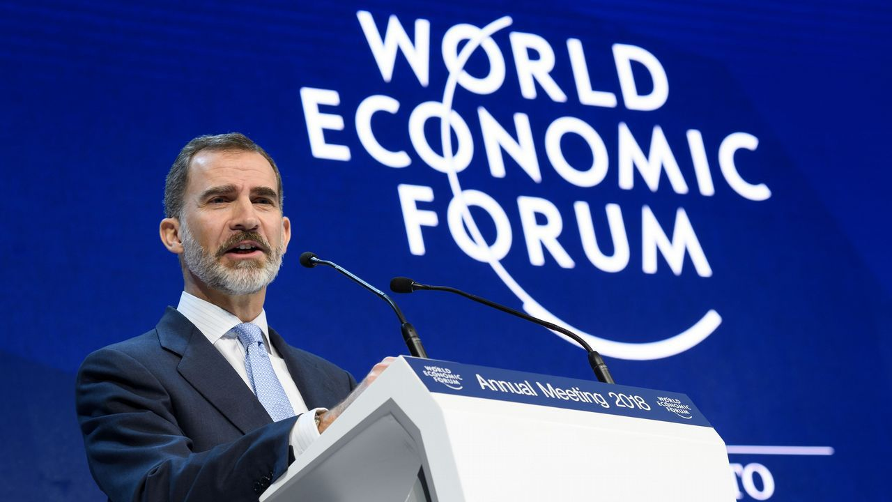 Trump arremete contra la prensa en Davos: «Es falsa, mala y desagradable».Donald Trump