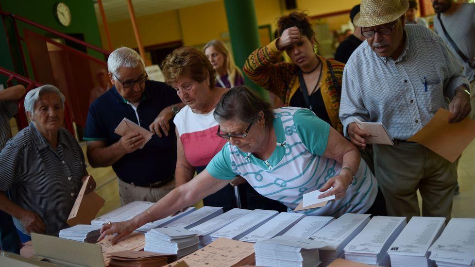 .Jornada electoral en España