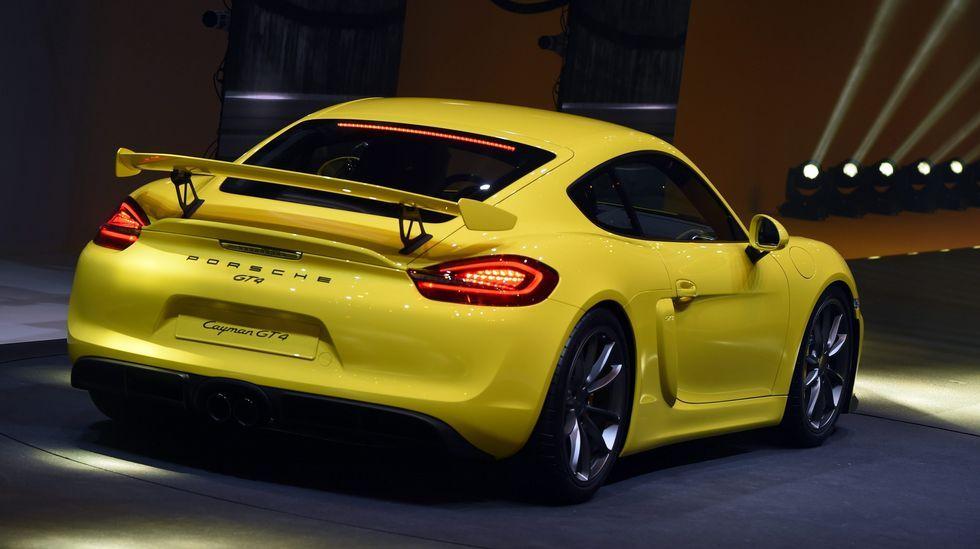 El nuevo Porsche Cayman GT 4.