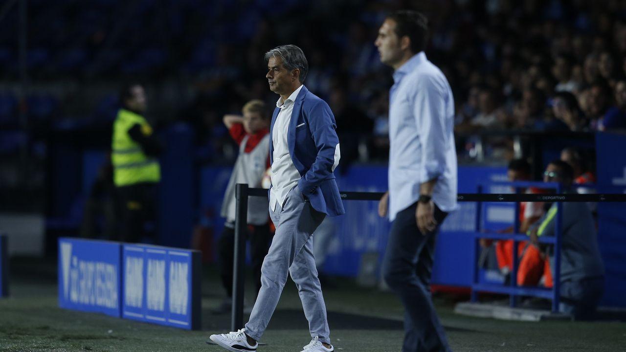 Las mejores imágenes del Zaragoza - Deportivo