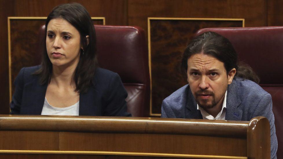 Tenso «rifirrafe» entre Luis Bárcenas y Toni Cantó.Irene Montero, mano derecha de Pablo Iglesias y portavoz de Podemos. Sustituyó en ese cargo a Íñigo Errejón, antiguo número dos del partido