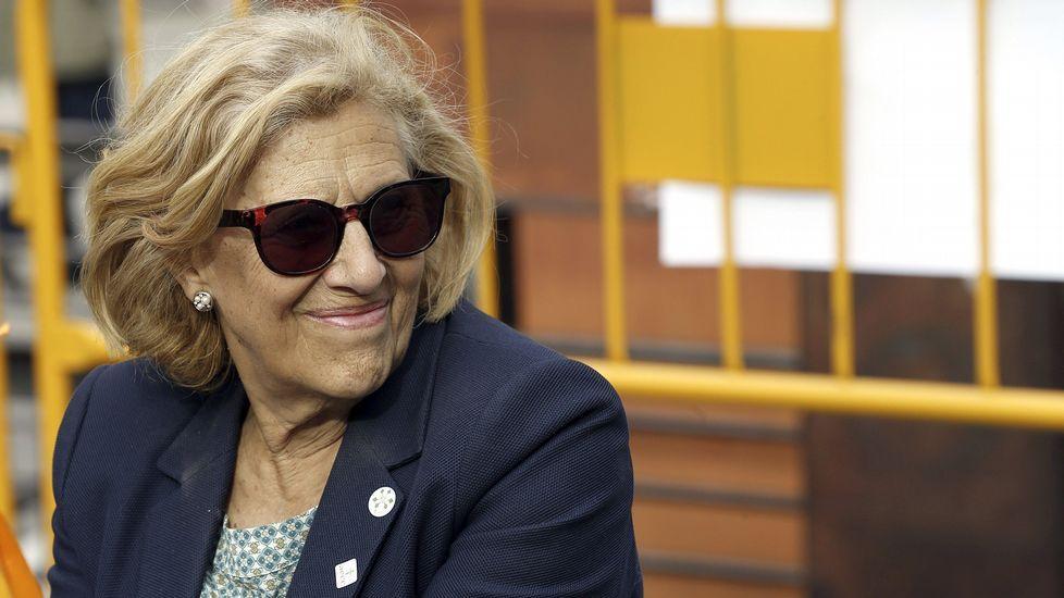Manuela Carmena recrea su conversación con Esperanza Aguirre