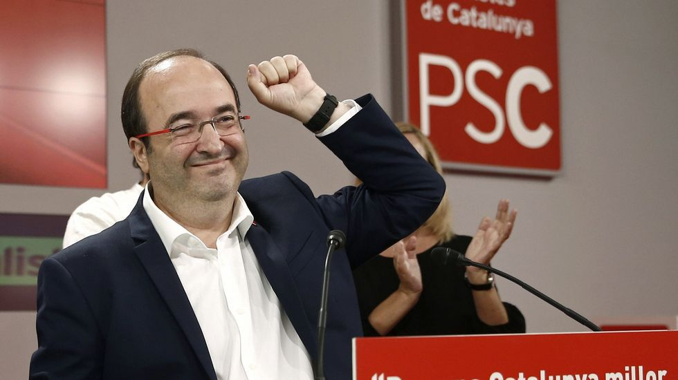 Iceta: «Los del plebiscito no han ganado»
