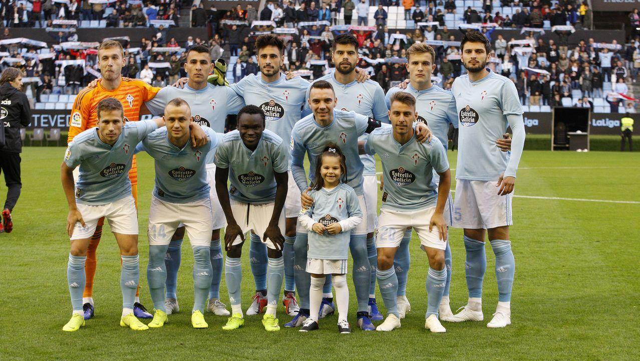 Las mejores fotos del Celta - Real Sociedad de la Copa del Rey.Imagen del amistoso entre Oviedo y Dépor en 2017