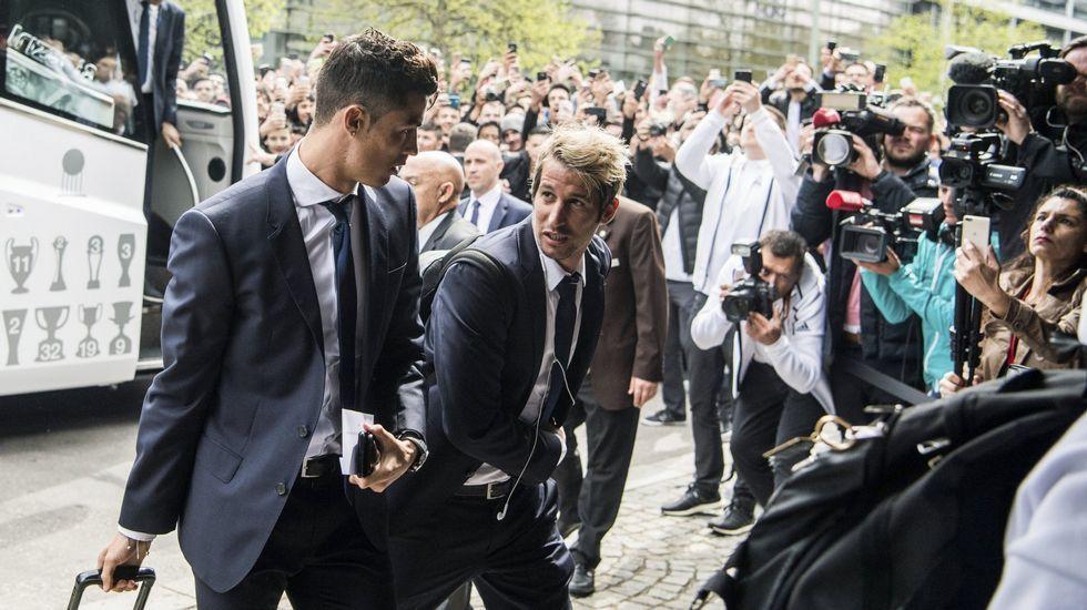 El madridismo enloquece con la duodécima del Real Madrid.Uno de los túneles del AVE que ya están finalizados.