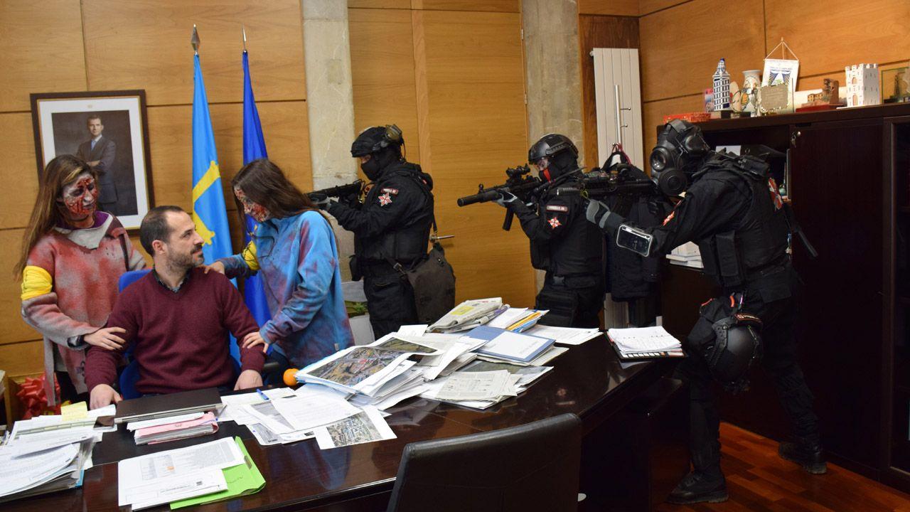 Juzgados Oviedo.«Ataque zombi» en el Ayuntamiento de Siero