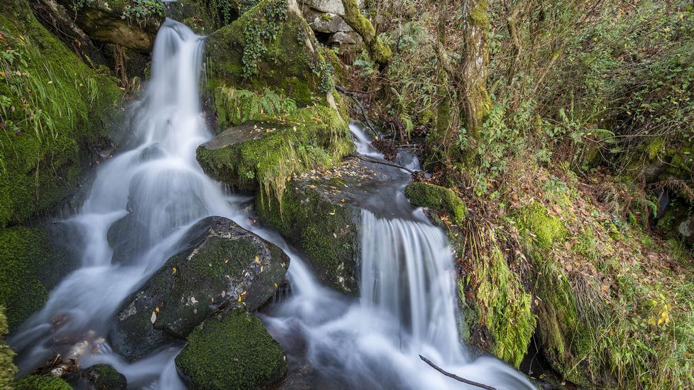 Cascada del Pozo da Ovella, cerca del mirador de As Fontiñas