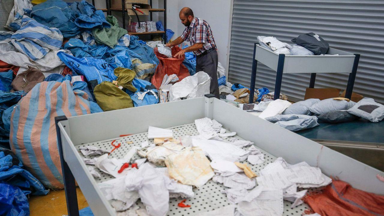 Diez toneladas de correo paralizadas durante ocho años por Israel.