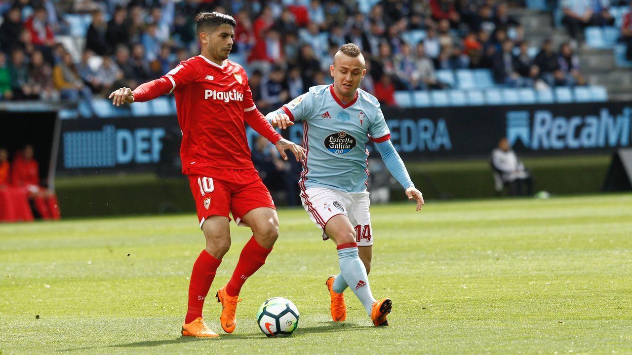Las imágenes de la lucha por Europa entre Celta y Sevilla.El Deportivo necesitará una racha casi perfecta de victorias cuando apenas quedan siete jornadas para el final