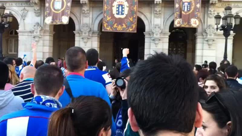 Gran afluencia de público en la feria medieval de A Coruña
