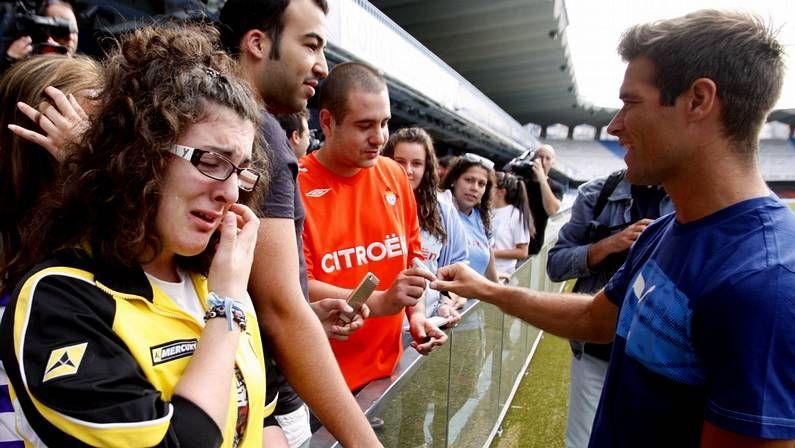 celta ok.Park, que llegó a Vigo prometiendo una buena cifra de goles, fue el gran fracaso de la ofensiva celeste el curso pasado.