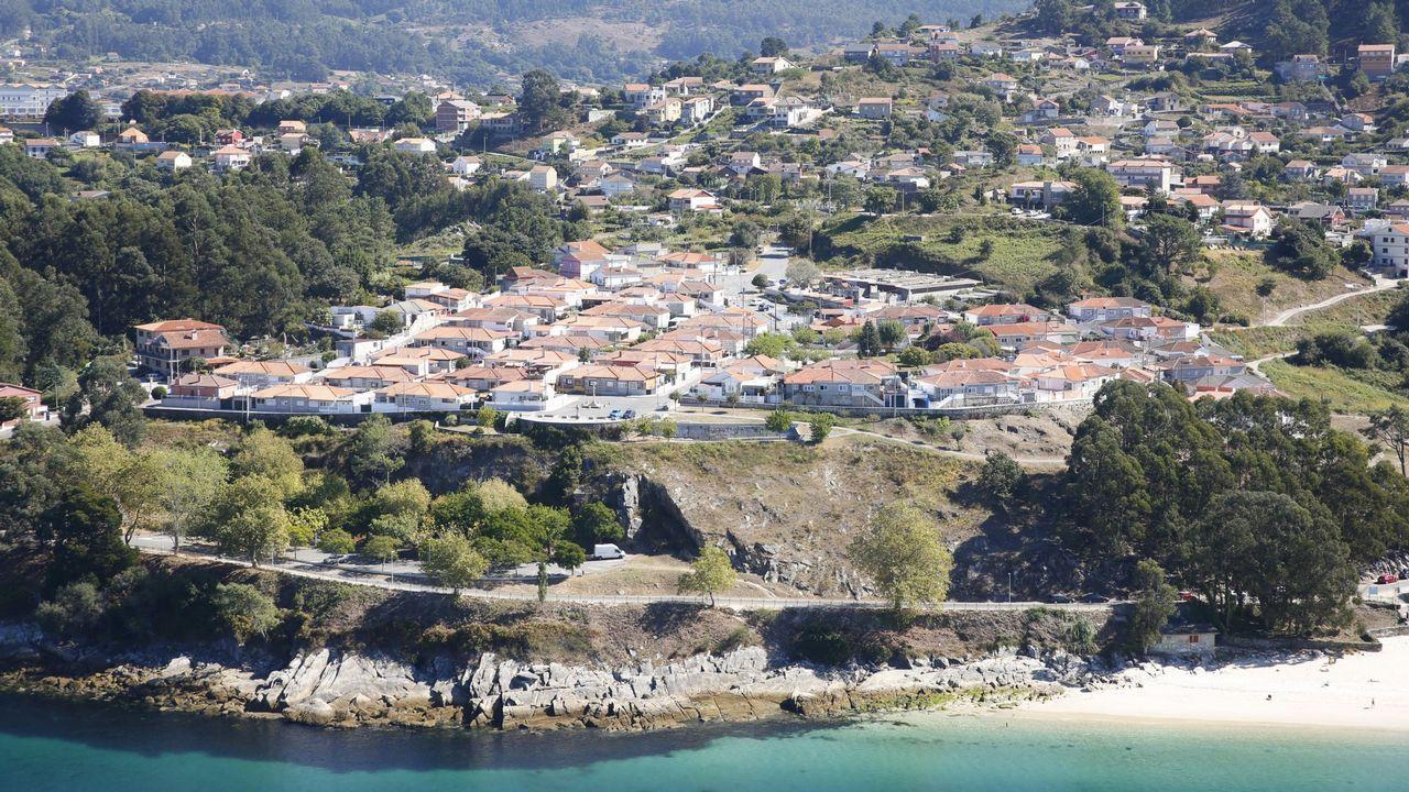 Las oficinas de Sicyme, finalistas en los premios del Colexio de Arquitectos.Casco antiguo de Oviedo