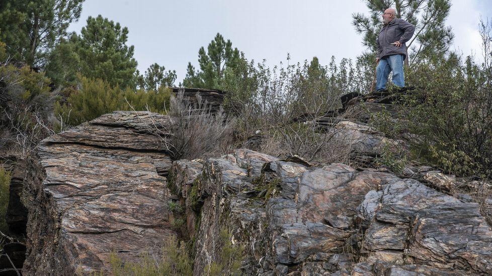 En el terreno hay grandes desniveles y terrazas que alcanzan alturas de hasta unos treinta metros
