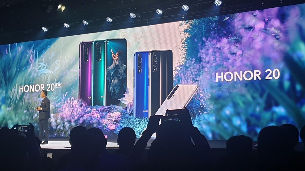 Presentación de Honor 20 de Huawei en Londres