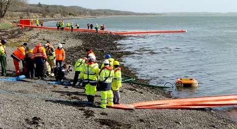 Técnicos de Portos tomaron parte en el ejercicio celebrado hace unos meses en Shannon.