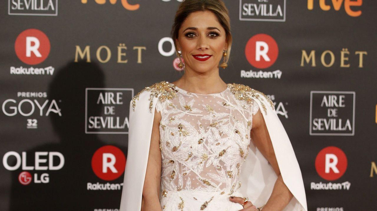 .La actriz Miriam Hernández