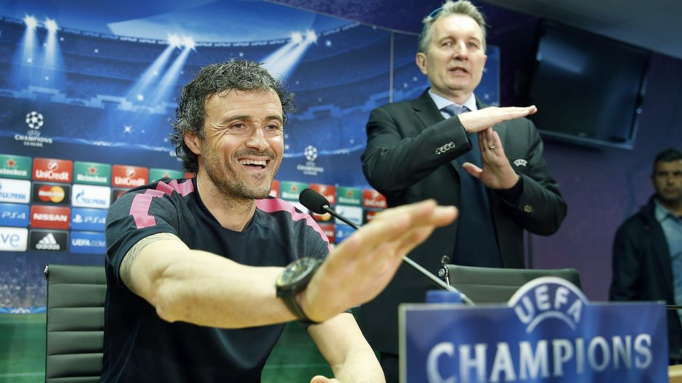 Luis Enrique no se ve favorito para la Champions.