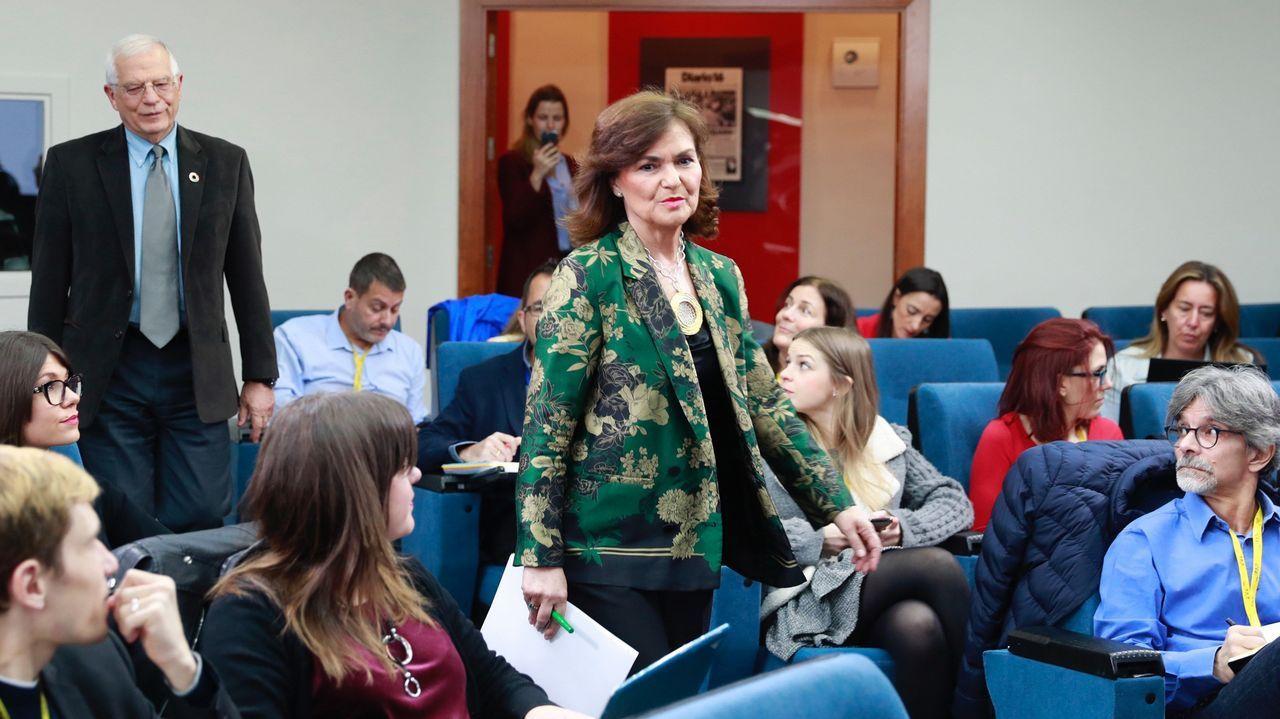 | EFE.Rueda de prensa, hoy en La Moncloa, posterior al Consejo de Ministros