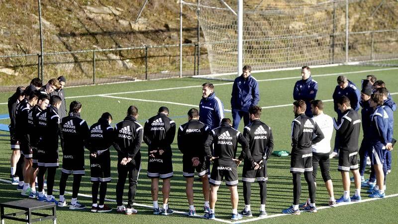 El Celta prepara la visita a Sevilla.Borja Iglesias celebra un gol con el filial