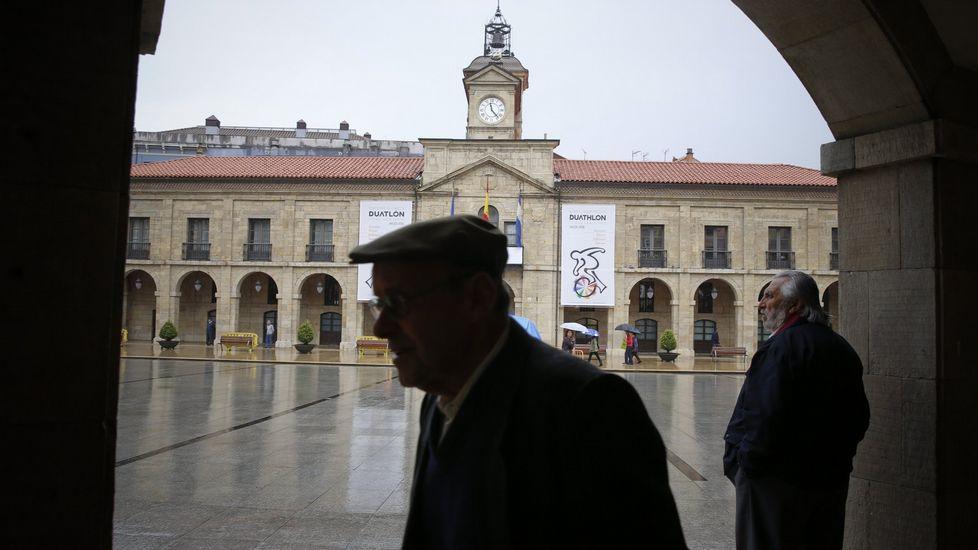 un alumno en un aula, clase, vacía.Ayuntamiento de Oviedo
