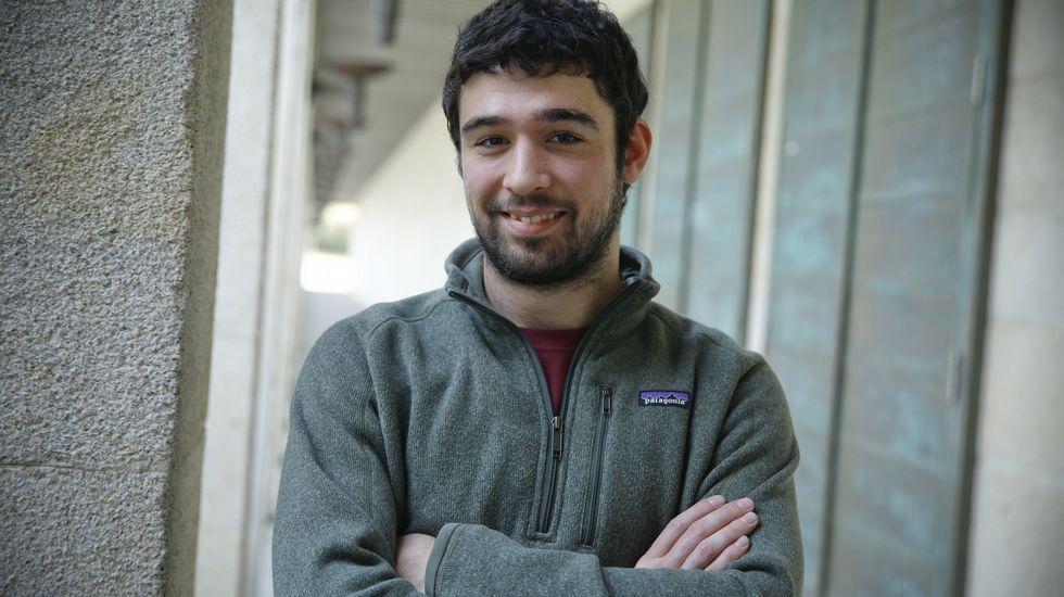 Fernando de la Torre, estudiante de Económicas