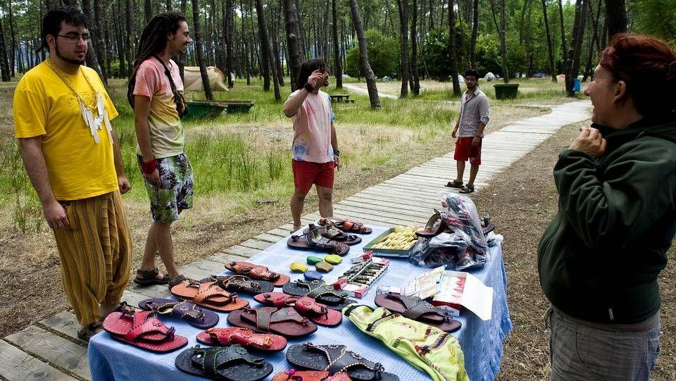 Los festivaleros más previsores ya acampan en Ortigueira