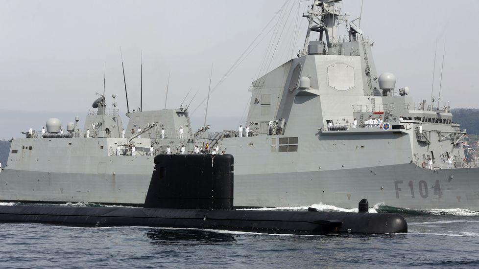 Todo a punto para la parada naval