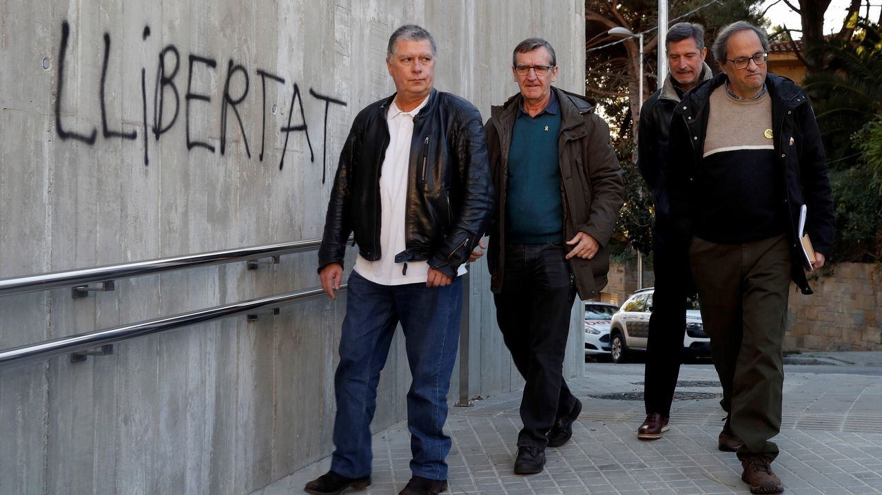 ¿Habrá purga en los Mossos?.Concentración de miembros de sindicatos de Mossos d'Esquadra