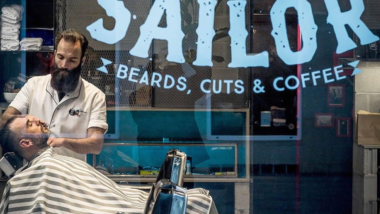 2018 | El mismo corte, en barberia de diseño: 18 euros