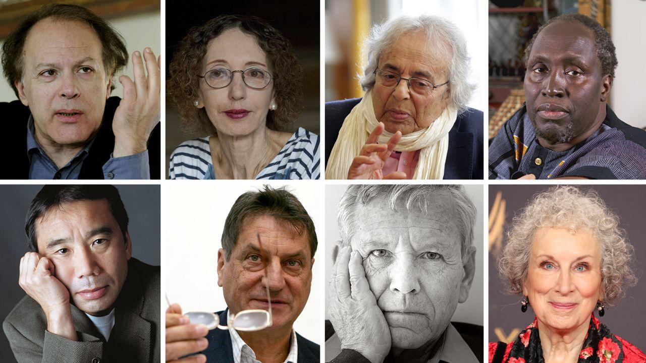 El anuncio del Nobel de Literatura, en directo.Los tres físicos reconocidos este año con el Premio Princesa de Asturias de Investigación Científica y Técnica Kip, Thorne (2d), Rainer Weiss (2i) y Barry C. Barish (i), y Laura Cadonati (d), representante de la Colaboración Científica LIGO, (siglas en inglés del Laboratorio de Ondas Gravitacionales), durante la rueda de prensa que ofrecieron hoy en Oviedo.