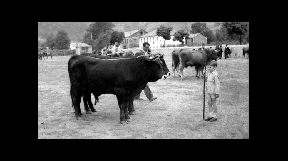 .A feira de Quiroga en 1958