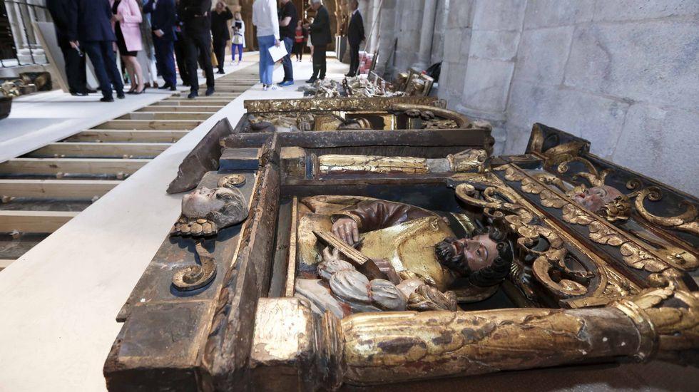 Seis euros para entrar al museo de la Catedral de Santiago.