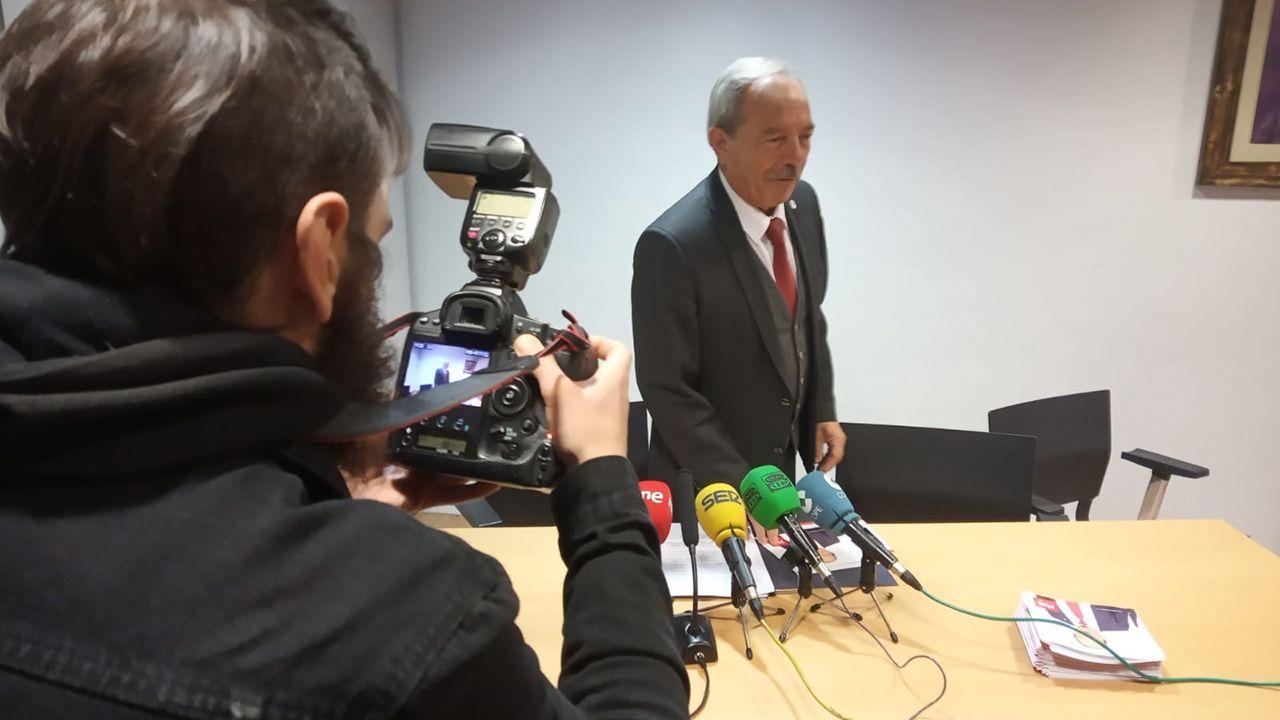 Propuesta del PP para el Oviedo antiguo.Wenceslao López, candidato del PSOE a la alcaldía