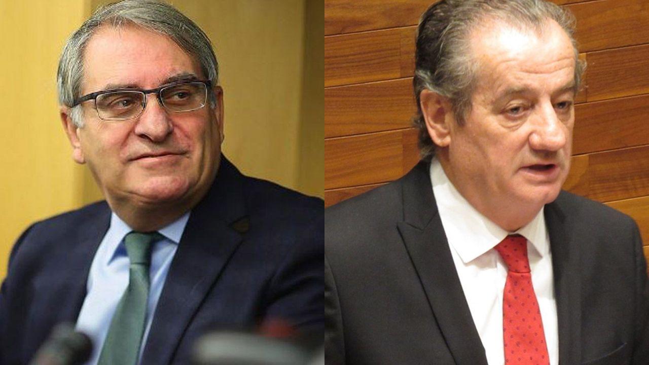 Podemos denuncia las prácticas de Mallada en Hunosa.Ramón García Cañal y Nicanor García