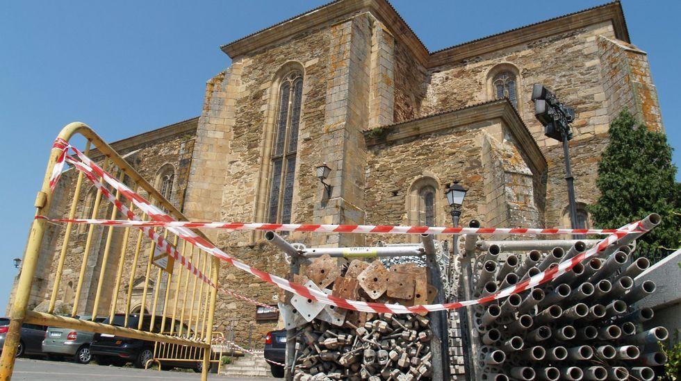 Una imagen virtual realizada antes del inicio de las obras que mostraba el nuevo aspecto que se le pretendía dar a la fachada sur