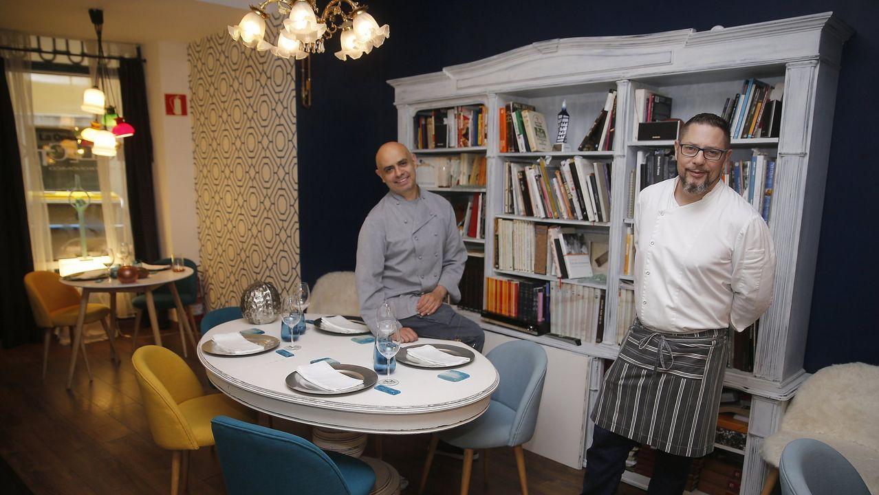 Berasategui y David de Jorge invitan a comer en el restaurante de prácticas del Carlos Oroza
