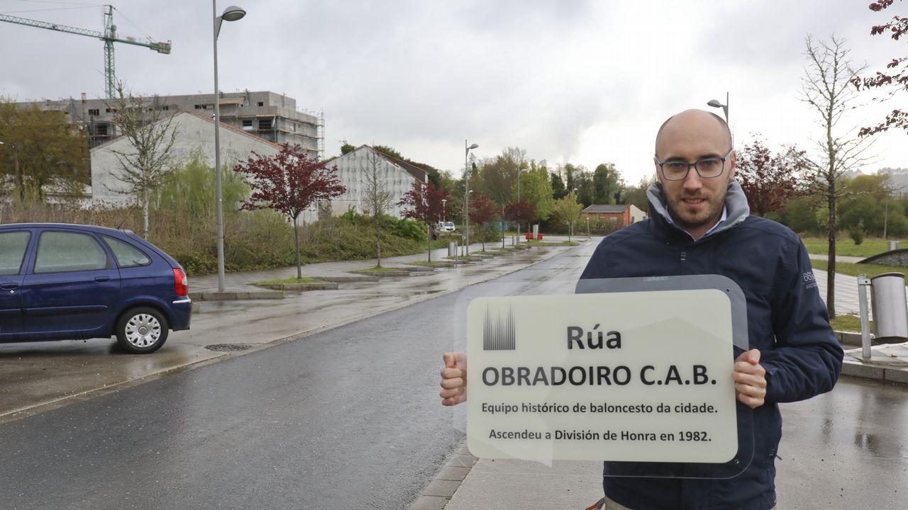 Radar de cartón en Santiago