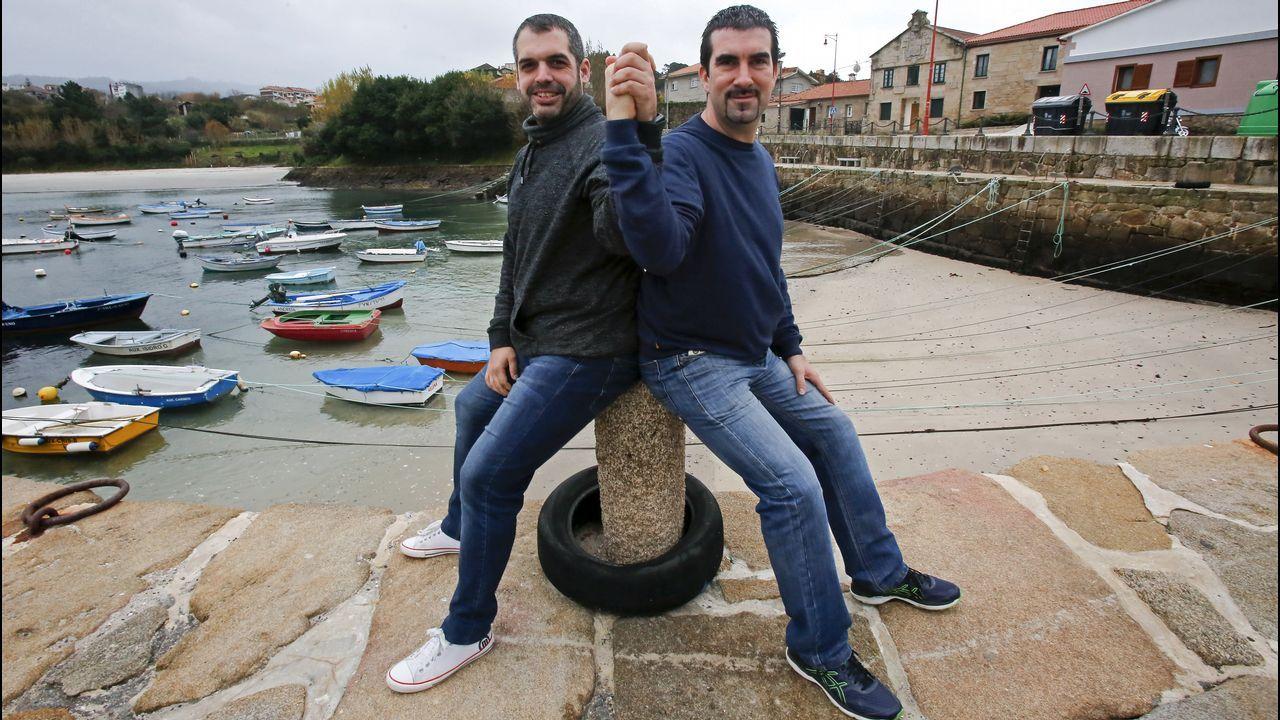 Cangas y Teucro, un derbi en apuros