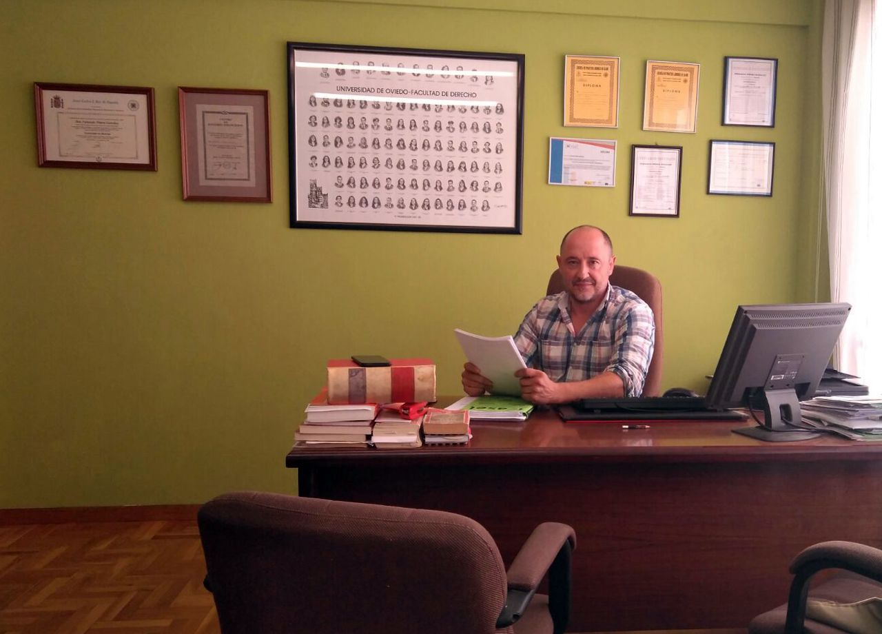 El abogado Fernando Piñera