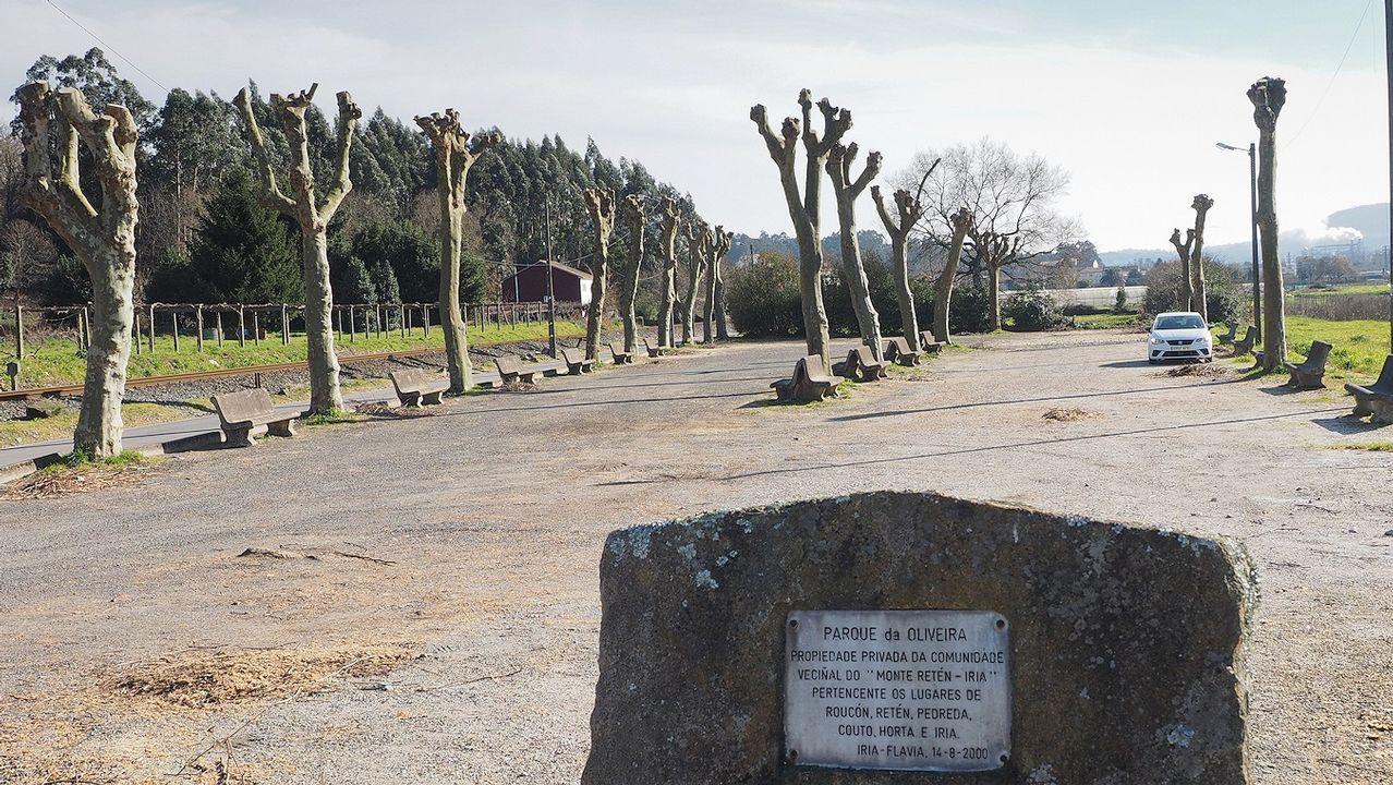 Pleamar en el Mandeo.Tramo de la A-52 en la provincia de Ourense en el que se había rebajado a 100 el límite de velocidad debido al mal estado del firme