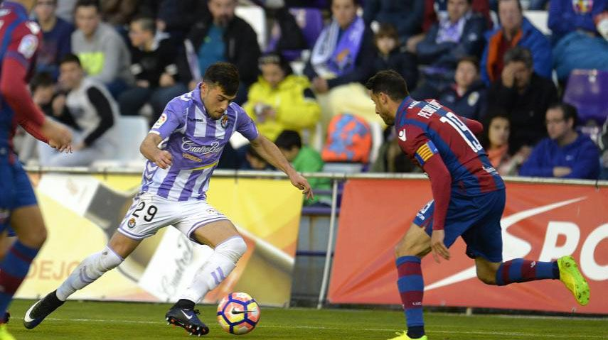 Jugadores del Girona celebran un gol frente al Getafe