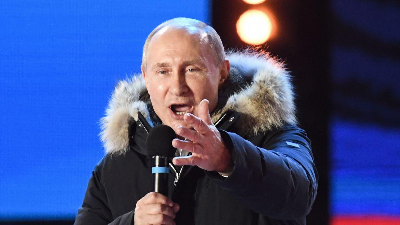 Putin, durante la presentación de nuevos tipos de misiles hace solo tres semanas